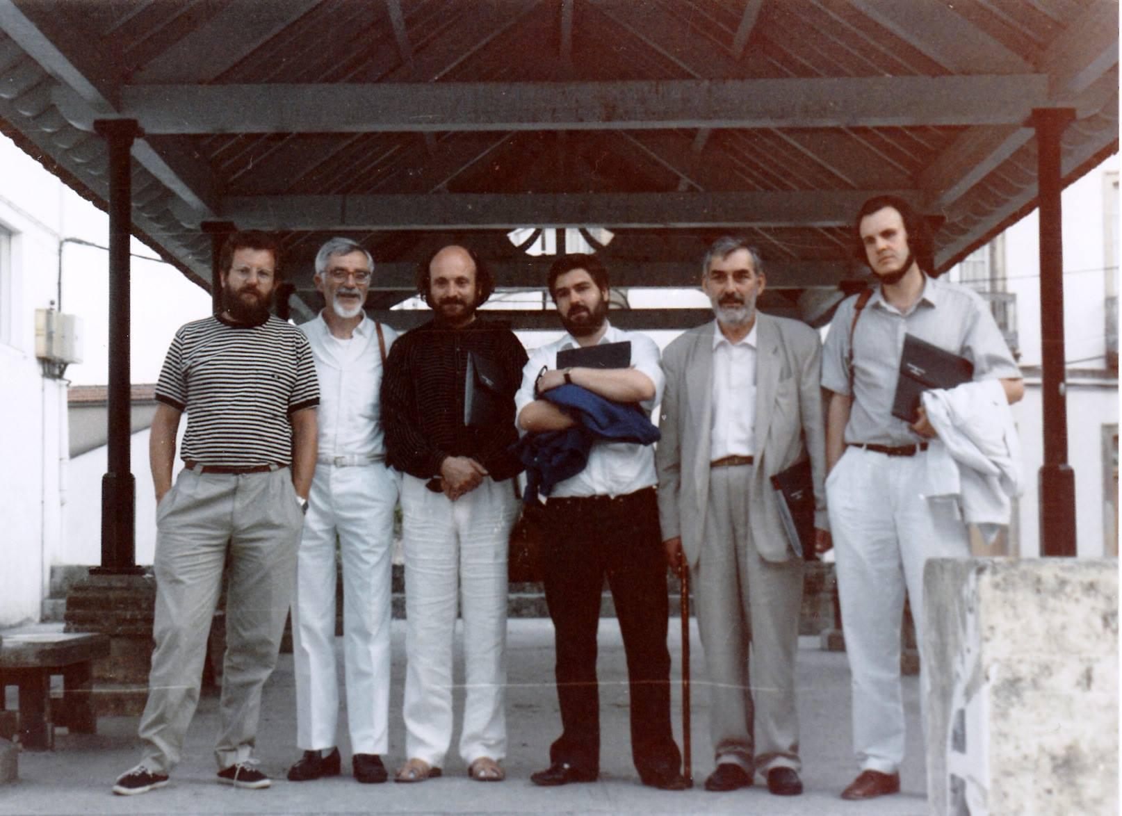 Grupo de poetas xeración Fernán Vello